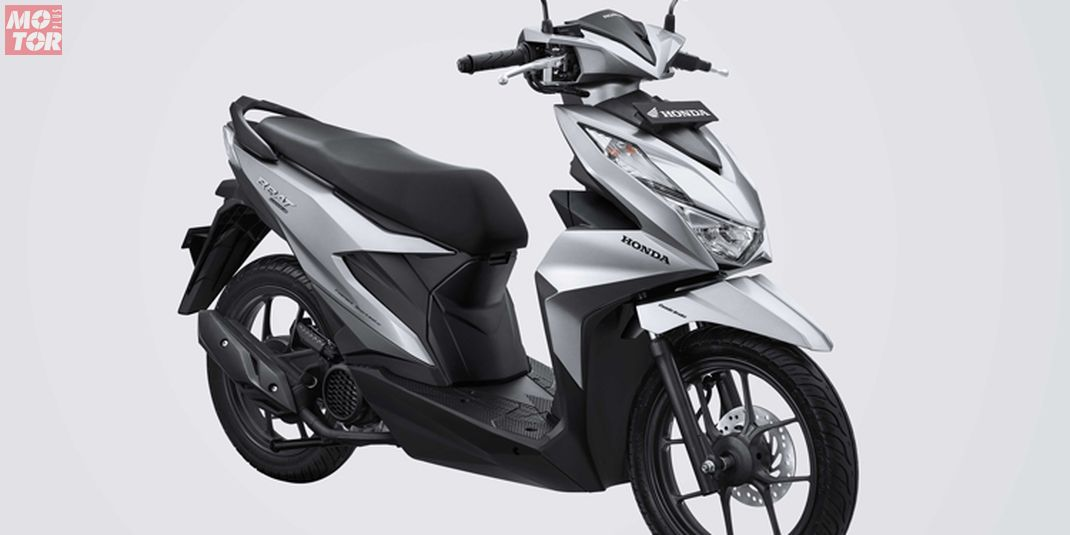 All New Honda BeAT Deluxe Silver