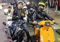 Mantap! Anak Ahmad Dhani Doyan Naik Motor, Mulai Moge Sampai Vespa