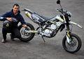 Ini Trik Kawasaki KLX 250 Agar Terlihat Seperti Motor Built Up