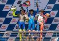 Dasar Valentino Rossi, Senyum Terus Biarpun Podium Dua MotoGP Amerika