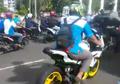 Kawasaki Ninja 250 Ikutan Konvoi Hari Buruh Jadi Pusat Perhatian