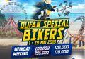Mantab, Dufan Kasih Promo Buat Bikers, Begini Nih Caranya Bro