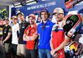 Duh! Rossi Kalah Sama Jagoan Lokal, Gak Nongol Di Konferensi Pers MotoGP Prancis