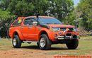 Mitsubishi Triton Lawas Sukses Dimodifikasi Jadi Lebih Gagah Pakai Warna Cerah