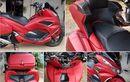 Honda PCX Kekar, Bodi Padat Ala Gold Wing Bikin Boncenger Tertidur