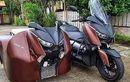 Pasang Sespan di Yamaha XMAX dan Aerox, Yang Dibonceng Bisa Ketiduran!