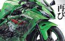 Mirip ZX10R, Beginikah Bentuk Kawasaki Ninja 250 Empat Silinder?
