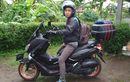 Kembali Makan Korban Rider Yamaha NMAX Nyungsep Masuk UGD Dagu Robek Dijahit Gara-gara Dudukan Pelat Nomor
