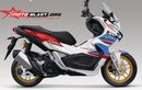 Honda ADV150 Baru Dilaunching Desain Baju Muncul, Gaya Ala Repsol Dan Africa Twin