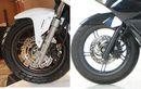 Ingin Pasang Cakram Rem Depan Honda ADV150 di Honda PCX 150? Ini Kendalanya Bro