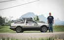 Demi Mengejar Cinta, Pria Malaysia ini Kendarai Mobil dari Malaysia sampai Jerman, Tunggangi Corolla AE 86!