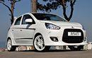 Pilih Tema Serba Putih, Mitsubishi Mirage Lama Sukses Jadi Lebih Sporty