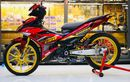 Yamaha MX King Super Stylish, Makin Menawan Pakai Part Mewah