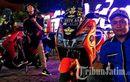 Komunitas Indonesia Lexi Club Surabaya Buktikan Pakai Motor Modifikasi Tetap Bisa Safety Riding