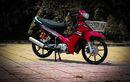 Yamaha Vega R Bergaya Manis, Modal Pasang Keranjang Modif Minimalis