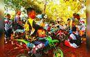 1.500 Penggemar Motor Trail Jajal Sirkuit Cikalongkulon Cianjur Dalam Rangka Hari Juang TNI