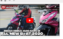 Video Impresi Berkendara All New Honda BeAT, Jauh Lebih Ringan!