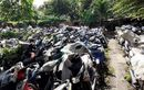 Masuk ke Kuburan Mobil Motor di Bekasi, Isinya Ratusan Sitaan Tilang dan Kecelakaan Yang Bertahun-tahun Tak Diambil