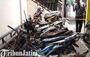 Dampak Bentrok Suporter Sepak Bola di Blitar, Puluhan Motor Bengong jadi Korban, Pemprov Mau Ganti?