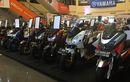 Pecah! Semifinal Customaxi x Yamaha Heritage Built di Makassar Dijejali Motor-motor Keren