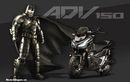 Adopsi dari Baju Besi yang Dipakai Batman, Ini Sosok Honda ADV 150