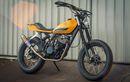 Yamaha XT250 Seharga Rp 2,4 Jutaan, Kena Rombak Jadi Street Tracker
