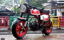 'Monkey' Cafe Racer Garapan Baru Motor Sport, Pakai Copotan Mesin Trail