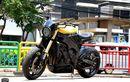 Bosan Berfairing, Yamaha R1 50th Anniversary Dirombak Jadi Naked Bike