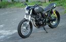 Yamaha Scorpio Sasis Dipotong, Sokbreker jadi Ganda, Spesial Buat Kado