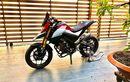 Yamaha Xabre Menjelma Jadi Moge Ducati Hypermotard, Modal Ganti Part