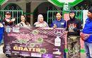 Bantu Berantas Covid-19, Gomax Riders Bagi-bagi Sabun dan Hand Sanitizer Buat Driver Ojol dan Masjid