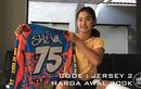 Bantu APD Untuk Tim Medis di Yogyakarta, Sheva Crosser Cantik Asal Yogya Ini Lelang Jersey Kebanggaan