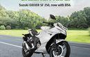 Motor 250 cc Terbaru Rilis di India, Gixxer 250 Naked dan Gixxer SF 250 Fairing, Siap Saingi Kawasaki Ninja 250?