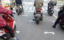 Bikin Heboh, Pengendara Motor Disuruh Polisi dan Dishub Baris Mirip Pembalap MotoGP, Ternyata Ini Alasannya