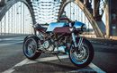 Ducati S2R Dirombak Jadi Cafe Racer Dengan Desain Nyentrik dan Unik