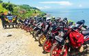 Rindu Riding, 15 Bikers FOC 150 Bekasi Gelar Sunmori ke Parang Gombong