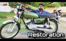 Mau Bangun Motor 2-Tak Klasik? Video Restorasi Yamaha RX-100 Ini Bisa Jadi Inspirasi