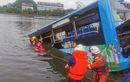 21 Penumpang Tewas, Bus Terjun Bebas ke Danau, Sopir Diduga Frustasi dan Tenggak Miras