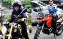 Aduhai, 5 Artis Cantik Doyan Gaspol Naik Moge, Bikers Naksir yang Mana Nih?