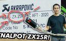 Motornya Masih Inden, Layz Motor Sudah Open PO Knalpot Akrapovic Untuk Ninja ZX-25R