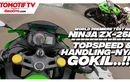 Video Test Ride Kawasaki Ninja ZX-25R, Fix! 250 Paling Powerful