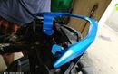 Yamaha Aerox Pasang Behel Jupiter Z, Ada yang Dicoak, Harga Sepaket Rp 450 Ribu
