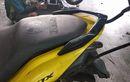 Yamaha Aerox Anti Ribet, Tanam Behel Jupiter Z, Jadi Gampang Digeser Saat Parkir