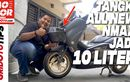 Video Review dan Pasang Tangki 10 Liter di Yamaha All New NMAX, Tanpa Ubahan?