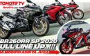 Video Review Full Line Up Honda CBR250RR SP 2020, Ada Garuda x Samurai