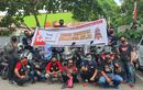 Peringati HUT PMI, Klub Motor Honda ADV Indonesia (HAI) Chapter Makassar Lakukan Aksi Donor Darah