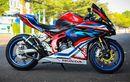 Modifikasi Honda CBR250RR Bekasi Makin Kece Bertabur Part Limbah Moge