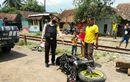 Susuki GSX-R150 Amburadul Digilas Kereta Api, Mesin Tiba-tiba Mati, Pelajar Ini Spontan Loncat