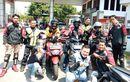 Meriah Pelantikan Member Baru Sekaligus Turjib Ke-3 ARCI Sukabumi Sambangi Pantai Sawarna