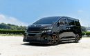 Toyota Vellfire Sporty Pakai Body Kit Custom dan Pelek Volk Racing TE37